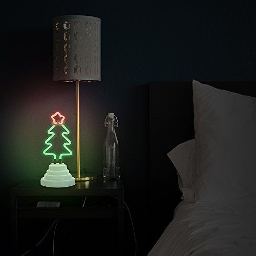 Review Funderdome Christmas Tree Neon