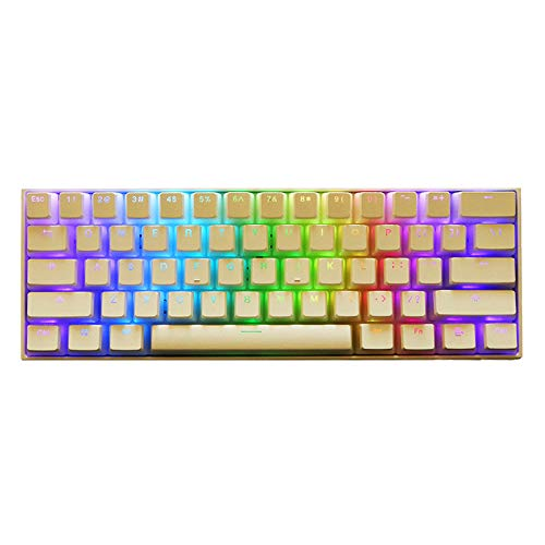 (Double Shot PBT Keycaps SENREAL 104 Backlit Milk Pudding Keycap Set OEM Profile Translucent Keycaps Kit for Cherry MX Mechanical Keyboard-)