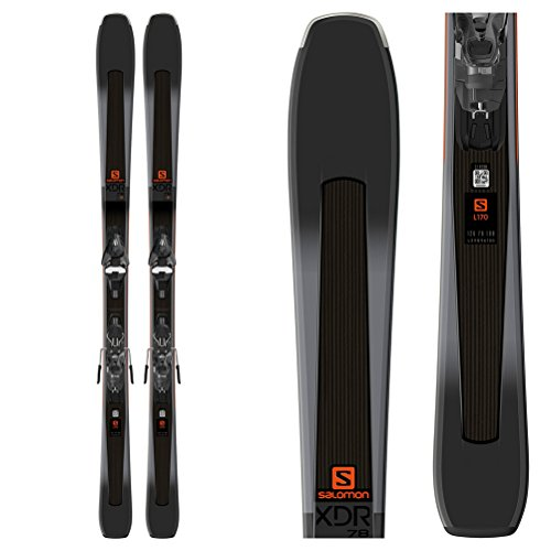 - Salomon XDR 78 ST Skis with Mercury 11 Bindings - 160cm