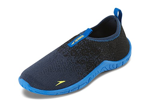 Speedo Water Shoes-Surf Knit, Navy/Royal 2