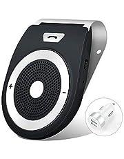Kit Vivavoce Bluetooth Accensione Automatica Tramite Sensore di Prossimità V4.1 da Auto con Controllo Vocale