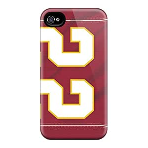 Iphone 4/4s KJW699yTeq Provide Private Custom Beautiful Kansas City Chiefs Pictures Anti-Scratch Hard Phone Cases -IanJoeyPatricia