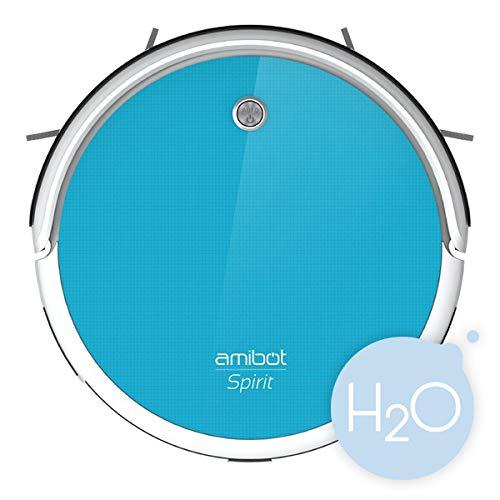 Acquisto AMIBOT Spirit H2O – Robot aspirapolvere ibrido con un serbatoio dell'acqua Prezzo offerta
