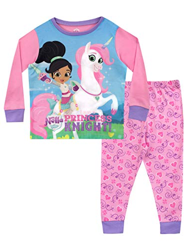 (Nella the Princess Knight Girls' Trinket Pajamas Size 8 Multicolored)