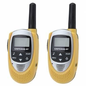 Bheema T-228 0.5W 20 Channels Backlit LCD Screen Walkie Talkie Yellow