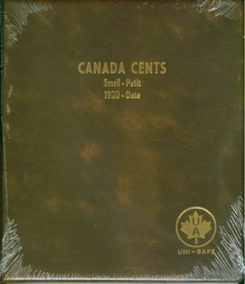 152- Canada Small Cents Uni-Safe 1920-Date