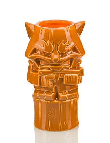 Guardians of the Galaxy Geeki Tikis – 16 oz Ceramic Tiki Mug – Rocket Raccoon