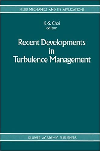 Book Recent Developments in Turbulence Management (Fluid Mechanics and Its Applications)