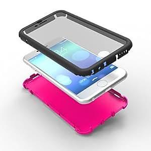 LCJ Anti Fall/Dust/Anti Scratch/Anti Slip 3 in 1 Hard Case for iPhone 6 4.7 , White