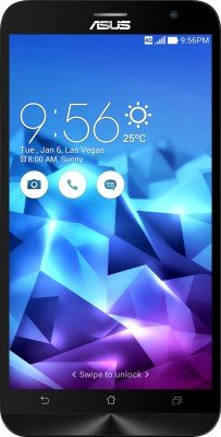 Asus Zenfone 2 Deluxe ZE551ML (Purple, 64 GB) Smartphones at amazon