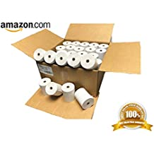 Thermal Paper Rolls 3-1/8 x 230' (Box of 50 Rolls) For POS Receipts Printers & Cash Register White – # 1 Voted by Manufacturers and Retailers in ALL AMERICA by LEBOMAR INTERNATIONAL