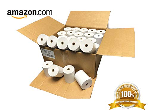 - Thermal Paper Rolls 3-1/8 x 230' (Box of 50 Rolls) For POS Receipts Printers & Cash Register White - # 1 Voted by Manufacturers and Retailers in ALL AMERICA by LEBOMAR INTERNATIONAL