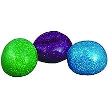 (1) Glitter Bead Sensory Ball Autism Occupational Therapy Fidget adhd spd asd Autism Awareness