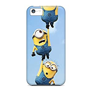 Compatible phone back shells Skin Cases Covers For Iphone Extreme iphone 5C - minions