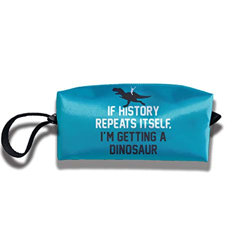 Coin Pouch If History Repeats Pen Holder Clutch Wristlet Wallets Purse Portable Storage Case Cosmetic Bags Zipper ()
