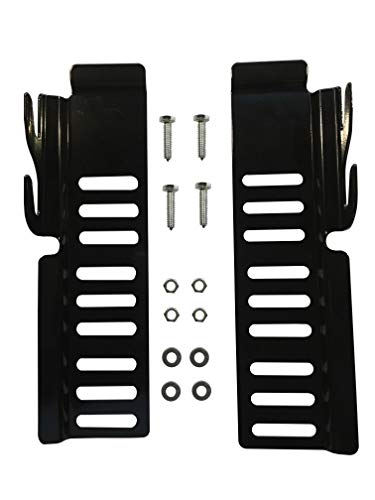 Footboard Kit (CLAW IT ON 65 Bed Rail Hooks Adapter Conversion Kit Bolt On Bed Headboard or Footboard Frame 2 Pack Comes with Longer BOLTS, NUTS, WASHERS adjustments in Height & Vertical & Width directions)
