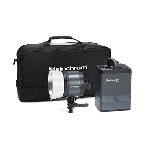 Elinchrom ELB 1200 Hi-Sync To Go Kit with Portable Power Pack, Air Battery, and HS Head (EL10305.1)