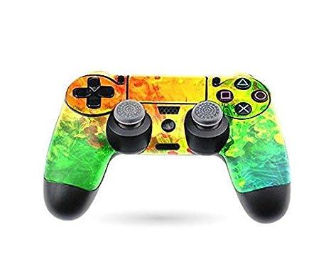 Amazon.com: PS4 Dualshock 4 Custom Controller Skin - Consola ...