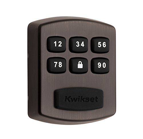 Keyless Entry Model - Kwikset Model 905 Keyless Entry Electronic Touchpad Deadbolt, in Venetian Bronze