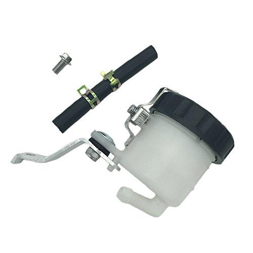 Lefossi Motorcycle Front Brake Master Cylinder Brake Pump Tank Oil Cup Fluid Bottle Reservoir w/Bracket For Honda CBR600RR CBR 600 2007-2018 CBR1000RR CBR 1000 2004-2018