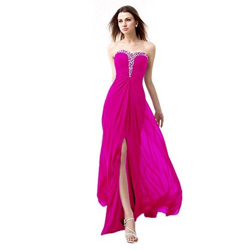 Fuschia Homecoming Dresses - 9