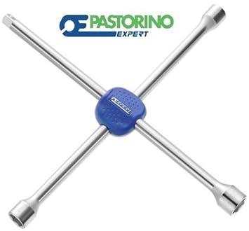 Detalles Sobre Llave de cruz para tuercas ruedas camiones Pastorino Expert e201116: Amazon.es: Coche y moto