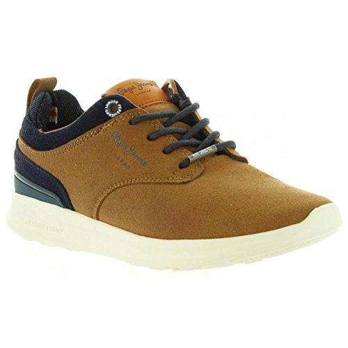 Schuhe für Junge und Mädchen PEPE JEANS PBS30323 JAYDEN 879 COGNAC
