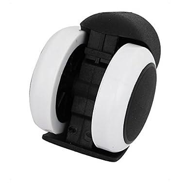 eDealMax 2 pulgadas rueda gemela Dia Anillo 11mm Grip Madre Silla carretilla giratorios Ruedas 4pcs: Amazon.com: Industrial & Scientific