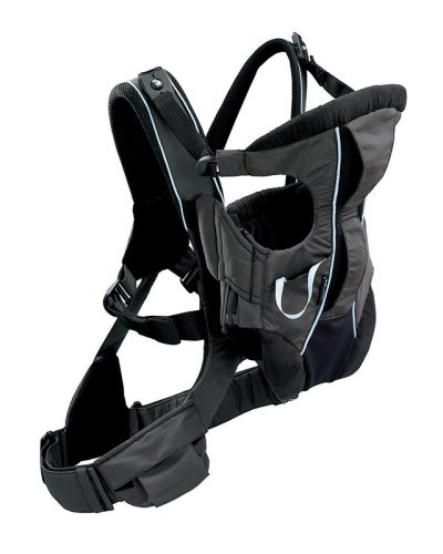 Fisher-Price K2565 Baby Gear - Mochila porta bebé, color negro: Amazon.es: Bebé