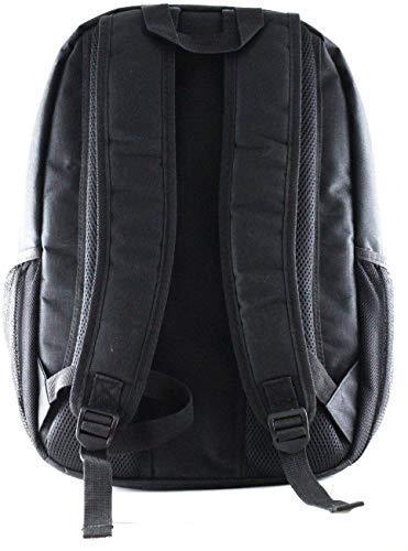 Navitech svart laptopryggsäck – kompatibel med MSI GL65 leopard 10SFK-062 15,6 tum