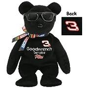 TY Beanie Baby - NO 3 the Nascar Bear ( Dale Earnhardt )