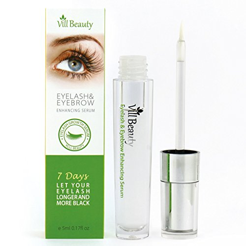 [2018 Upgraded] Premium Eyelash Growth Serum, Eyebrow Growth Serum, Best Eyelash Growth Serum For Longer, Thicker Eyelash And Eyebrow! Doctor Recommended Eyelash Growth Serum!