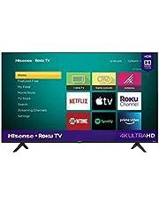 Hisense Pantalla Smart TV 50 Pulgadas 4k Roku TV 50R6090G5 (Reacondicionado)