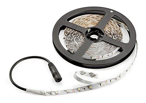 Radiance Flexible Light Strip, 16.4 ft, Daylight White, Cuttable/Linkable
