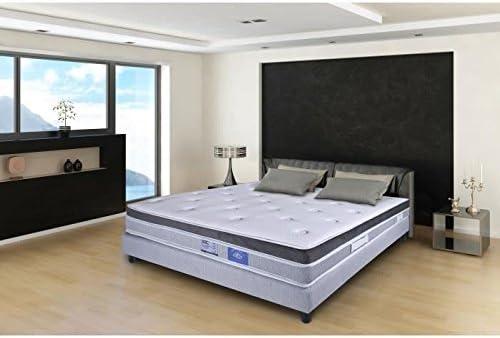 Isla Belle Literie Conjunto somier y colchón – 160 x 200 cm – 2 ...