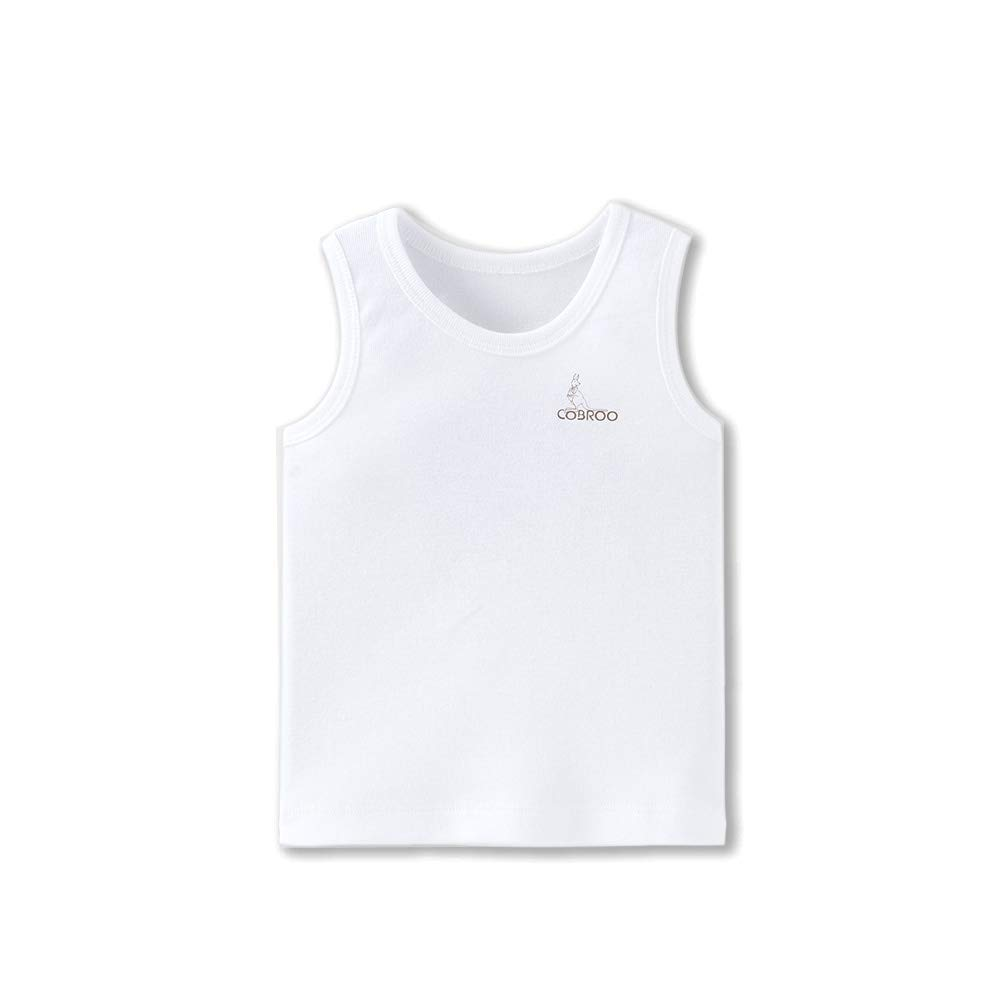 0a11aeb4e Amazon.com: COBROO Newborn Baby Girls Tank Tops Cotton Sleeveless T-Shirts 2 -Pack Cami Undershirt 0-5 Years Infant Toddler: Clothing