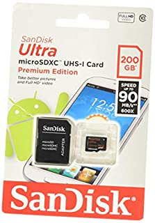 SanDisk Ultra 200GB Micro SD (SDSDQUAN-200G-G4A) (B00V62XBQQ) | Amazon price tracker / tracking, Amazon price history charts, Amazon price watches, Amazon price drop alerts