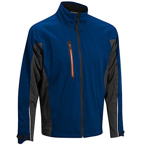 Mizuno Flex Rain Waterproof Jacket 2015 Navy/Charcoal Medium