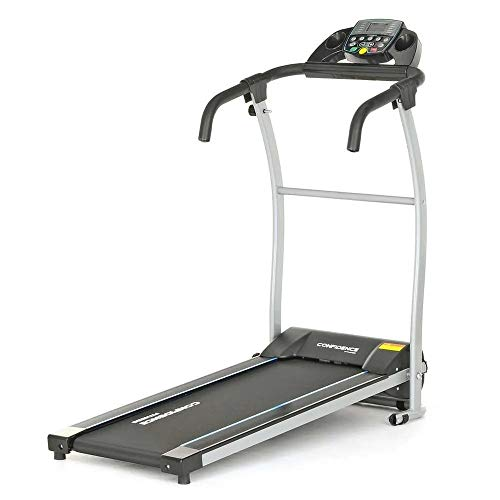 Confidence Tech Power Motorized Electric Treadmill Model 1 Black - Folding Design for Easy Storage at Home