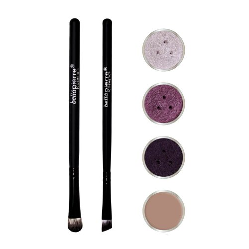 Bella Pierre Get The Look Eye Kit, Purple Storm, - Champagne Bella