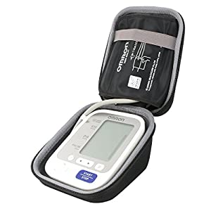 co2CREA Storage Carry Travel Hard Case for Omron M3 Upper Arm Blood Pressure Monitor(Case only,without blood monitor in…