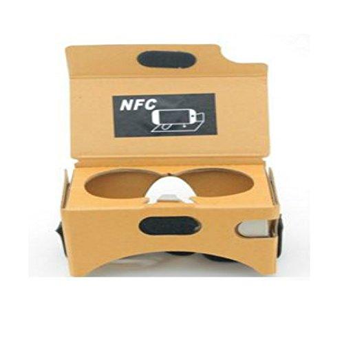 Google Cardboard Version 2 3D Glasses VR Headband QR Code