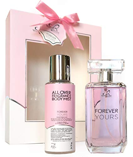 Watermark Forever Yours XL Gift Set │ 1 Eau De Parfum 3.4 Oz │ 1 Body Mist Spray 3.4 Oz │ Inspired by Eternity Now Perfume