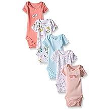 "Carter's Baby Girls' ""Spring Sweetie"" 5-Pack Bodysuits"