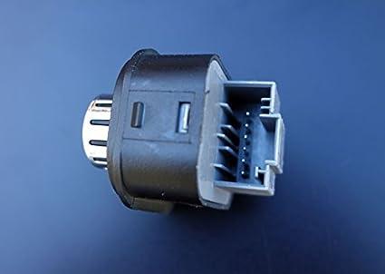 Chrom Spiegel Schalter Verstellknopf Beheizbar Auto