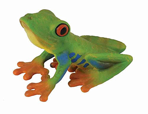 CollectA Insects Red-eyed Tree Frog Toy Figure - Authentic Hand Painted Model