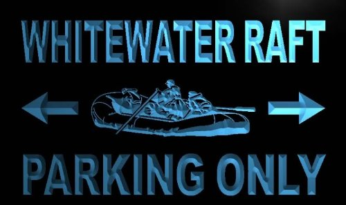 ADV PRO m457-b Whitewater Raft Parking Only Neon Light Sign