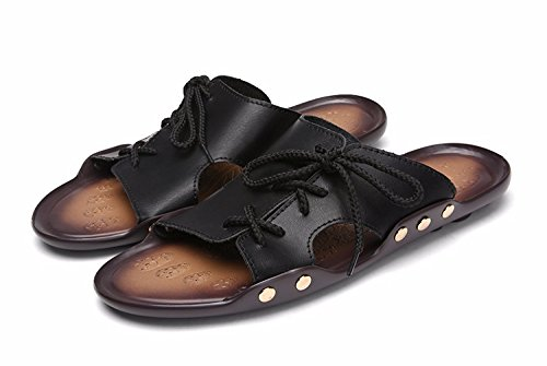 Ultra Eu De 9 Respirável 1 43 Sandálias Tendência Sapato leves Praia Aleta Verão 3 Uk Black1 Fracasso Sandálias Homens SnxfRwvZ