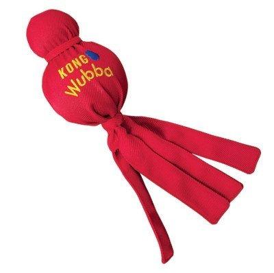 (Kong Wubba Ballistic Nylon Tough Toy Large Set of 2!)