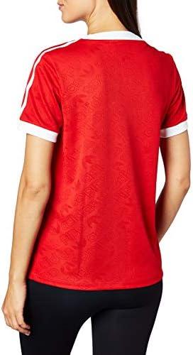 adidas 3 STR W T Shirt Scarlet